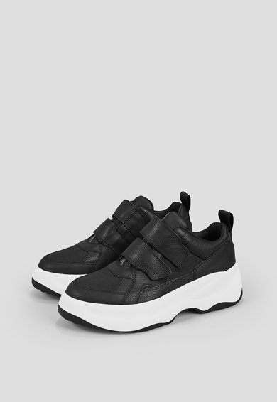 Vagabond Shoemakers Pantofi sport de piele cu velcro si aspect masiv Femei