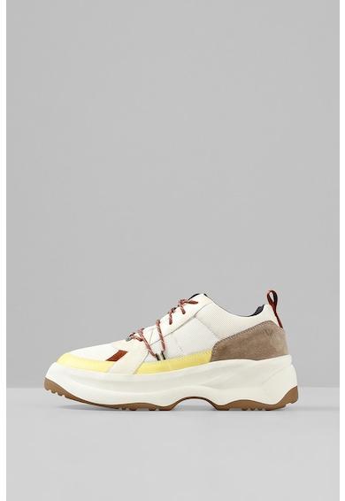 Vagabond Shoemakers Pantofi sport de piele cu aspect colorblock Indicator 2.0 Femei