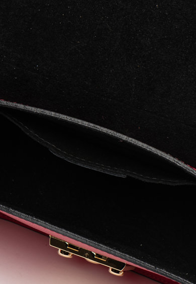 Krole Geanta crossbody de piele, cu detalii florale Femei