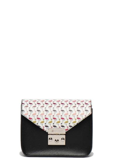 Krole Geanta de umar cu imprimeu flamingo Femei