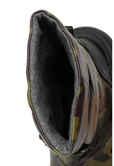 Love Moschino Ghete din piele cu imprimeu camuflaj Femei