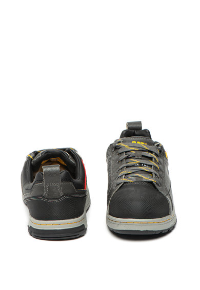 CAT Pantofi din piele si piele ecologica, cu varf contrastant Brode Barbati