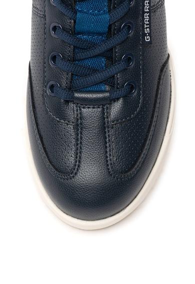 G-Star Raw Pantofi sport de piele ecologica cu garnituri de piele Boxxa Femei