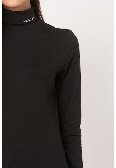 Levi's Bluza cu guler inalt si logo brodat Femei