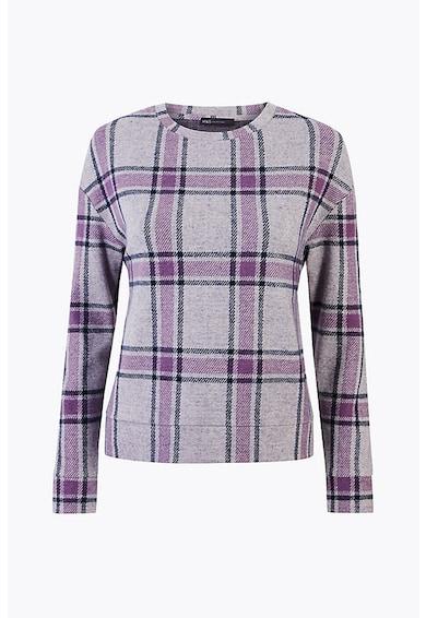 Marks & Spencer Bluza cu decolteu la baza gatului si model in carouri Femei