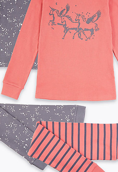 Marks & Spencer Set de pijamale - 2 piese Fete