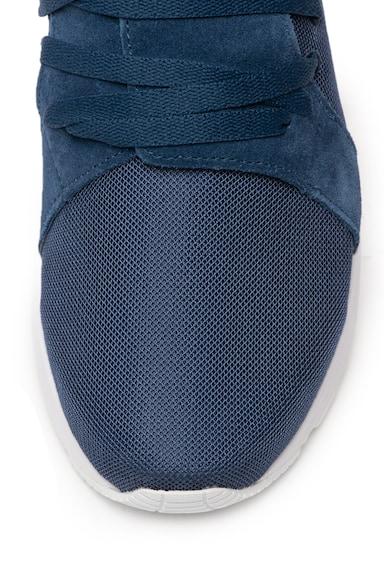 Asics Pantofi sport cu garnituri de piele intoarsa si plasa Sanze Barbati
