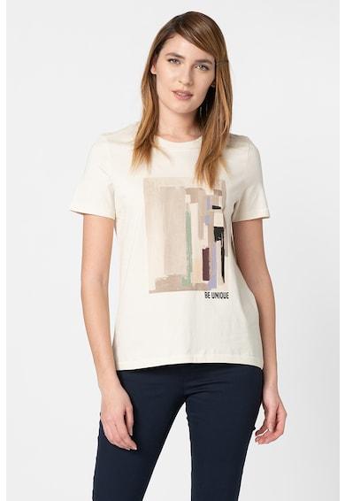 Vero Moda Tricou lejer din bumbac organic, cu imprimeu grafic Dana Femei