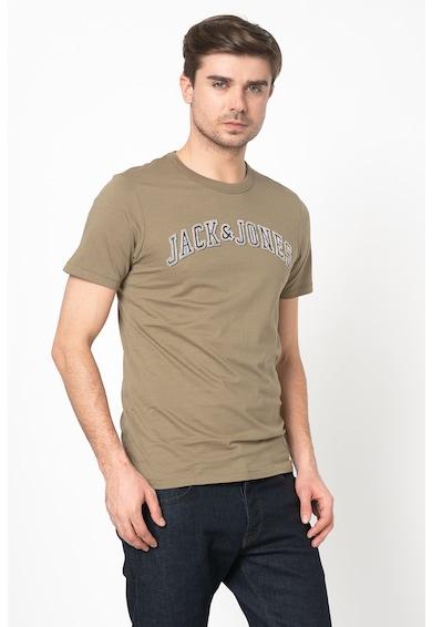 Jack&Jones Tricou slim fit cu logo Barbati