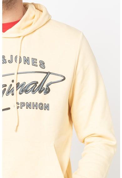 Jack&Jones Суитшърт Pex с качулка и лого Мъже