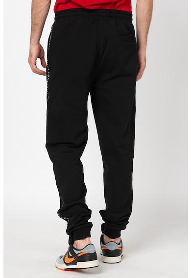 GUESS JEANS Pantaloni sport cu detaliu logo lateral Barbati