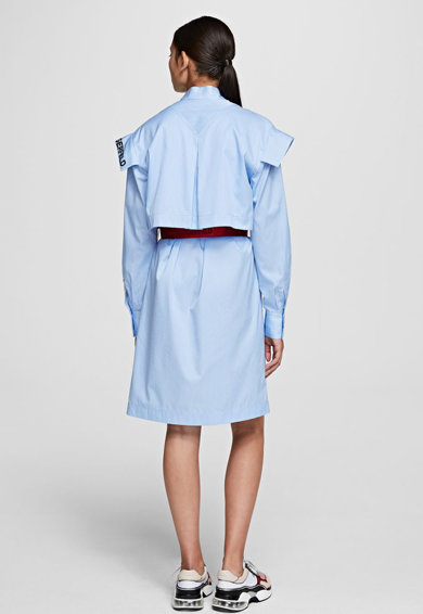 Karl Lagerfeld Rochie tip camasa, in dungi Femei