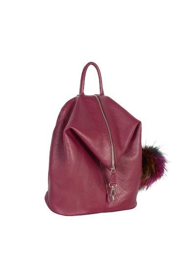 Zevo Aida bőr hátizsák női