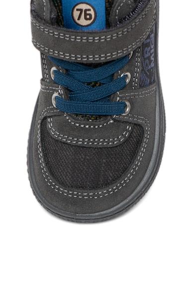 Primigi Pantofi sport mid-high cu garnituri din piele intoarsa Baieti