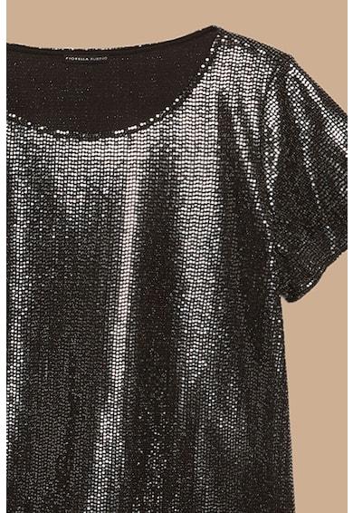 Fiorella Rubino Tricou cu aspect metalizat Femei