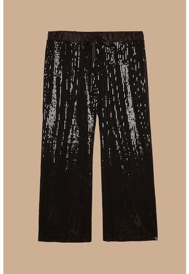 Fiorella Rubino Pantaloni cu croiala ampla, decorati cu paiete Femei