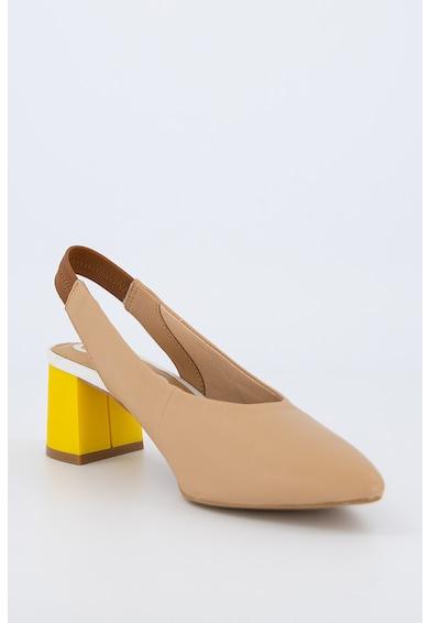 Gioseppo Pantofi din piele cu bareta slingback Amenia Femei