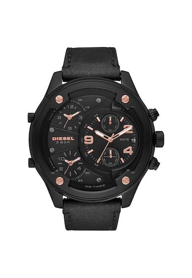 Diesel Ceas cronograf cu o curea din piele Barbati