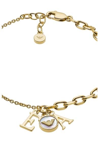 Emporio Armani Гривна тип верижка от стерлингово сребро Жени