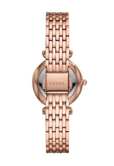 Fossil Ceas analog cu motiv floral Femei