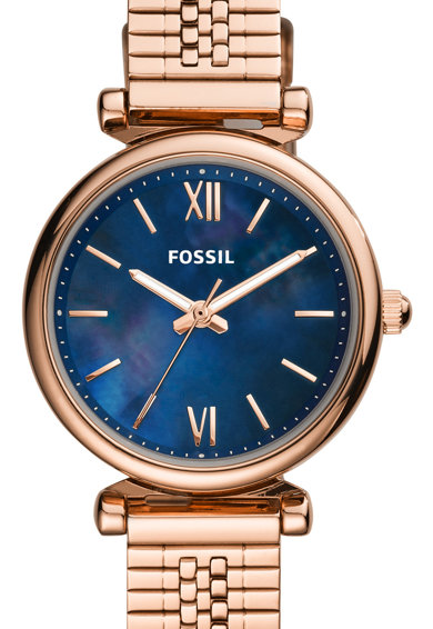 Fossil Ceas analog cu cadran Mother of Pearl Femei