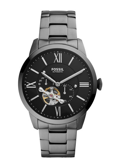 Fossil Ceas automatic cu bratara metalica Barbati