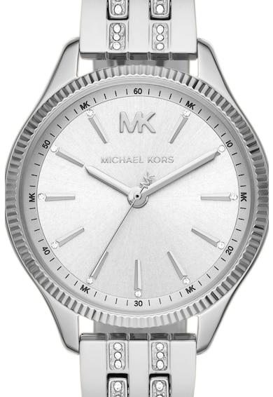 Michael Kors Ceas din otel inoxidabil decorat cu cristale Femei