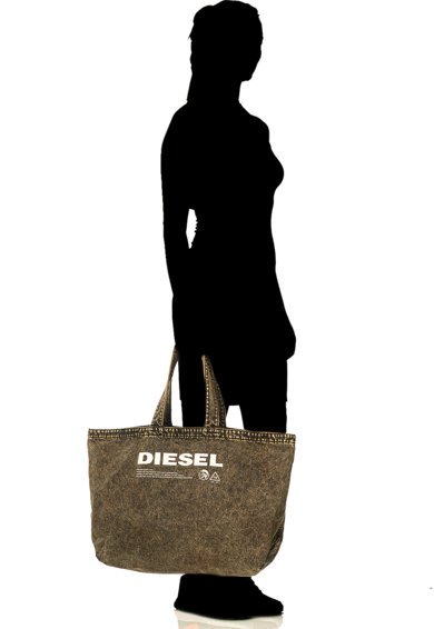 Diesel Geanta shopper din denim cu logo D-ThisBag Barbati