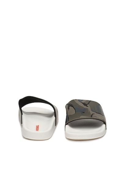 Diesel Papuci cu imprimeu camuflaj Maral Barbati