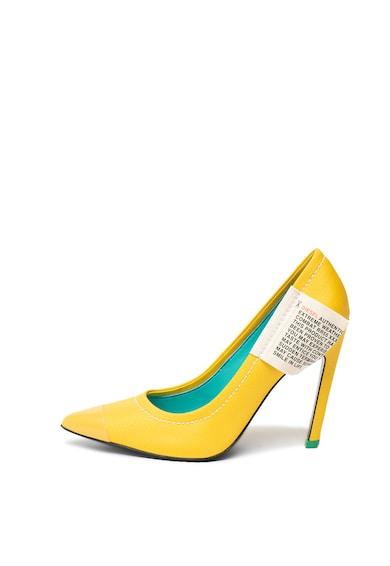 Diesel Pantofi stiletto cu cusaturi contrastante Slanty Femei