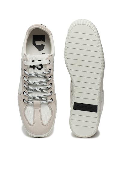 Diesel Pantofi sport cu insertii de piele Millenium Barbati