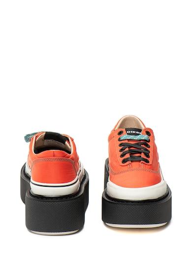 Diesel Pantofi sport wedge, din material textil Scirocco Femei