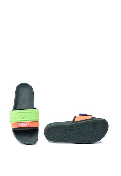 Diesel Papuci cu model colorblock Valla Femei