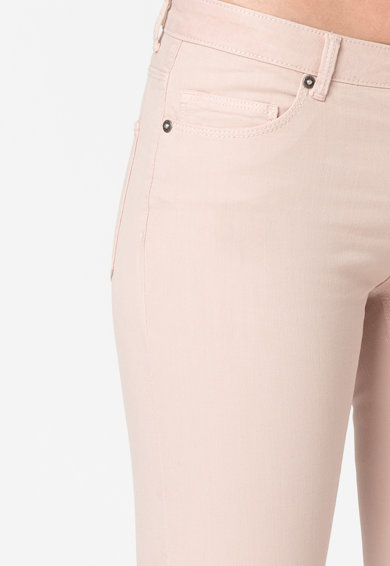 Only Pantaloni crop skinny cu slituri cu fermoar Serena Femei