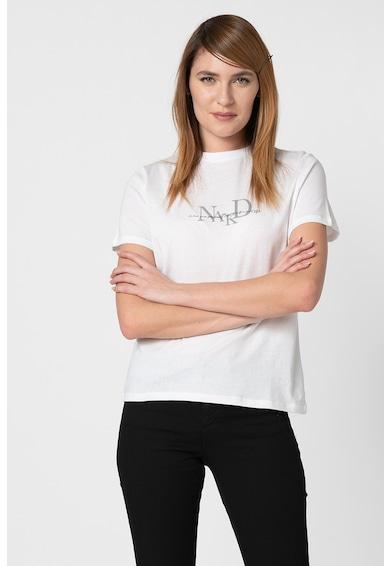 NA-KD Tricou cu imprimeu logo Femei