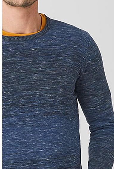 s.Oliver Pulover tricotat fin, cu decolteu la baza gatului Barbati