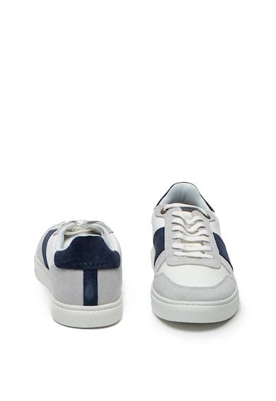 Ted Baker Pantofi sport de piele intoarsa si piele Coppit Barbati