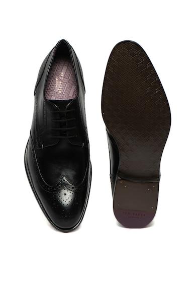 Ted Baker Pantofi brogue din piele Trvss Barbati