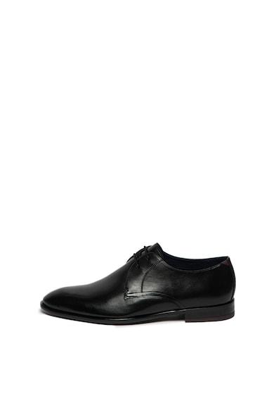 Ted Baker Pantofi derby din piele, cu branturi cu amortizare Sumpsa Barbati