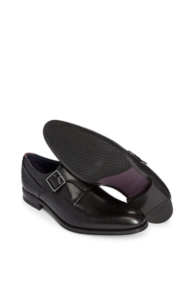Ted Baker Pantofi din piele cu catarama Carmo Barbati