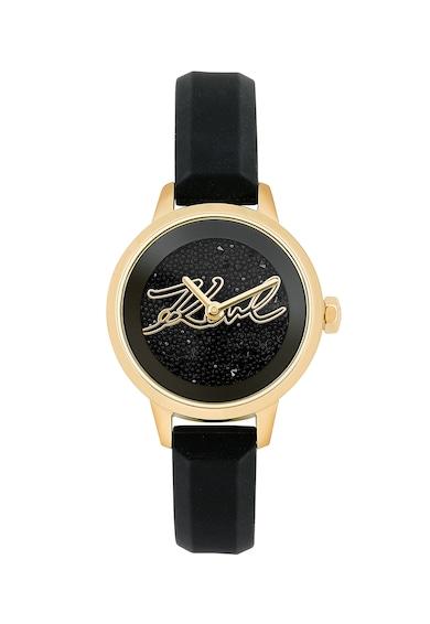 Karl Lagerfeld Ceas cu cristale Swarovski pe cadran Femei