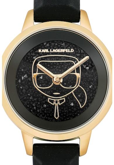 Karl Lagerfeld Ceas decorat cu cristale Swarovski Femei