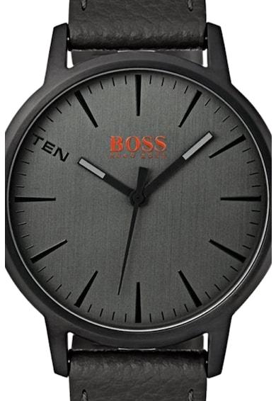Hugo Boss Orange Ceas analog cu o curea de piele Barbati
