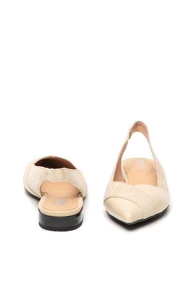 Geox Pantofi din piele intoarsa cu bareta slingback Charyssa Femei