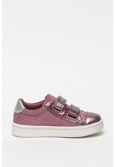 Geox Pantofi sport cu aspect stralucitor Djrock Fete