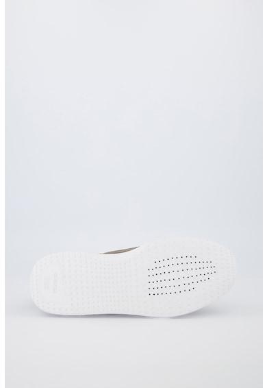 Geox Pantofi sport din piele intoarsa cu insertii din plasa Barbati
