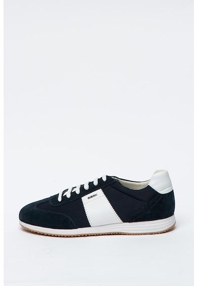 Geox Спортни обувки Arsien с велур и кожа Мъже