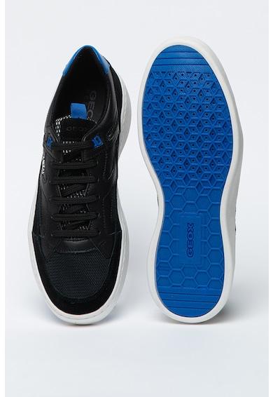 Geox Спортни обувки Colbyn с велур и кожа Мъже
