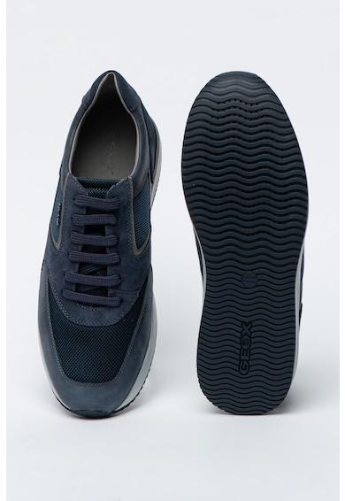 Geox Спортни обувки Dennie от кожа и велур Мъже