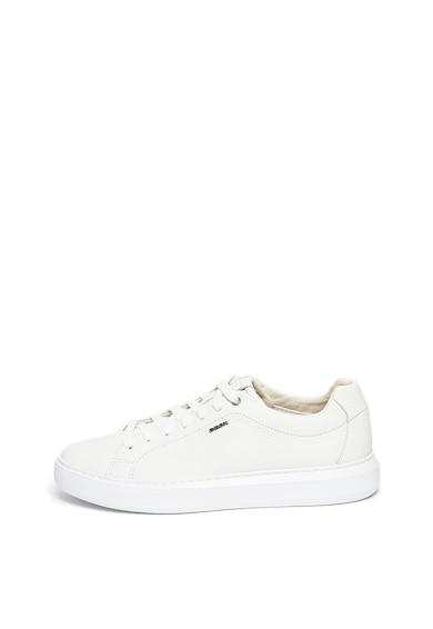 Geox Pantofi sport de piele Deiven Barbati